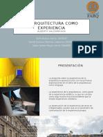 La arquitectura como experiencia.pptx