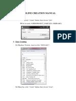 2.Pdms Gridline Creation Manual