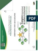 Congreso Internacional de Cultura Institucional - PONAL