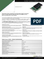 Nvidia Quadro k2000 by Pny Datasheet