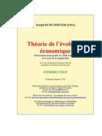 theorie_evolution économique schumpeter intro