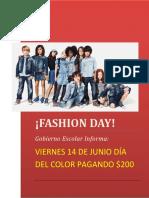Día Del Color 14 Junio 2019