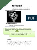TRANSMISIONES CVT