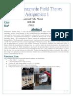 EMFT Assignment 1