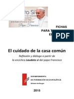Formacion Sociopolitica Fichas Laudato Si