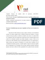 Ajmechet-Una Nueva Constitucion Para La Nueva Argentina