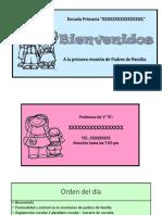 1ERA REUNION CON PADRES 1°A.pptx