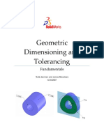SW Dimensioning and Tolerancing