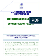 Concentradores Centrífugos Knelson y Falcon en Power Point