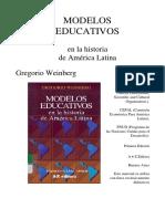 MODELOS EDUCATIVOS EN LA HISTORIA DE AMERICA LATINA.pdf