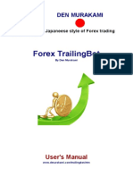 Forex Trailingbot Users Manual