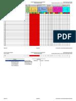 Concentrado de Evaluacion Diagnóstica Tercer Grado