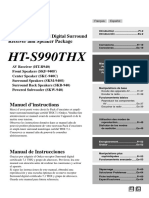 Onkyo HT-S990THX Manual del usuario