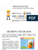 Decreto 1072 de 2015 Presentacion Power Point