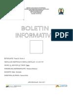 Boleta  2016-2017 II Lapso