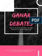 GANAR DEBATES Guia de Debate Para Universitarios Compressed