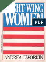 Andrea Dworkin - Right-wing Women