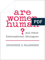 Catharine A. MacKinnon - Are Women Human And Other International Dialogues - .epub