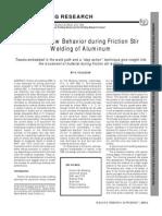 1.Material Flow Behavior During Friction Stir