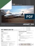 Embraer Legacy 600 11p