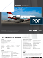 Bombardier Challenger 604 6p