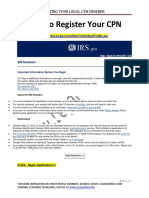 How to Register Your CPN