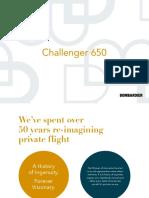 Bombardier Challenger 650 Brochures