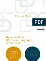 Bombardier Global 7500 Brochures