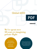 Bombardier Global 6000 Brochures