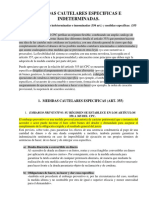 MEDIDAS CAUTELARES ESPECIFICAS E INDETERMINADAS.docx