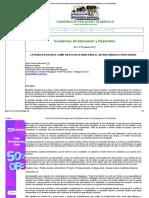 La Práctica Docente Como Objeto Necesario Para El Autodesarrollo Profesional -- Orlenda Coloch