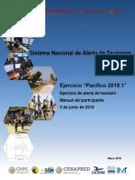 Manual Simulacro Tsunamis PACÍFICO 2019.1