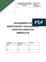 PR-GI-02_Proced. Identificación y Evaluación Aspectos Ambientales