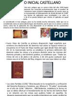 Derecho Inicial Castellano