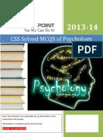 Solved MCQS of Psychology.pdf