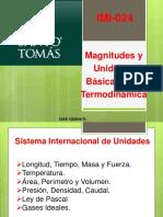 Magnitudes y Unidades Bã_sicas Para Termodinã_mica