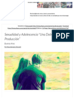 Sexualidad y Adolescencia _Una Doble Producción_ _ Letra Urbana
