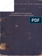 elements of partial differential equation