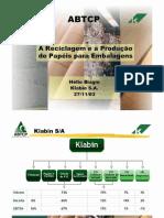 A Reciclagem e a Producao de Papel.pdf
