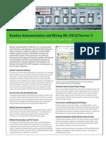 1RE PDS Bentley Instrumentation Wiring LTR en LR 0116