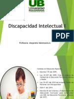 Clase 1 Discapacidad Intelectual I.pptx