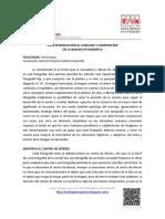 Guia Introducción Al Lenguaje y Contenido en La Imagen Fotográfica