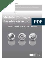 Casos Práctico Sección 26 Pagos Basados en Acciones