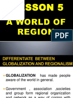 A World of Region l5