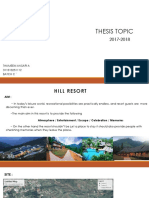 thesis hill resort