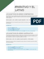 EL COMPARATIVO Y EL SUPERLATIVO.docx
