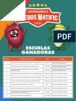 El instituto de las Artes y las Ciencias de Florencio Varela, en el podio de los Juegos MATIFIC 2019 de matemáticas para Latinoamérica