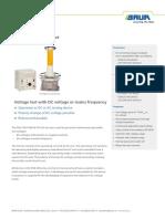 Ds Ac Dc Hv Test Set Pgk 150-5 Hb Baur en-gb