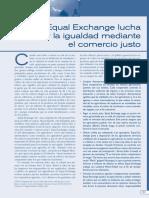 Equal Exchange Lucha Por La Igualdad Mediante El Comercio Justo
