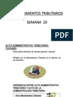 Clase x Acto Adm Tributaria